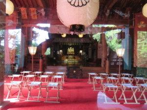 高瀬神社拝殿