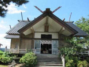 夛久比禮志神社社殿