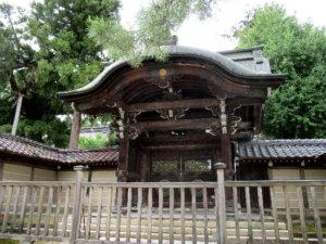 善光寺式台門