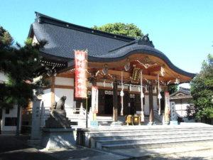 姉倉比賣神社社殿
