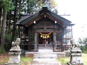 宇奈月神社社殿
