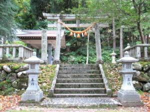 宇奈月神社鳥居