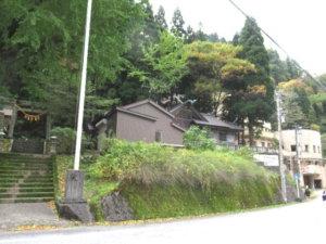宇奈月神社全景