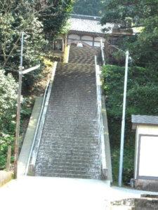護國寺正面階段