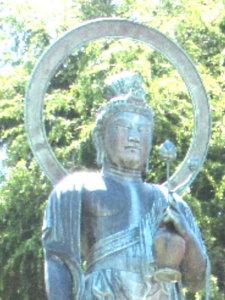 護國寺聖観音像頭部